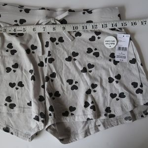 Shorts with Hearts